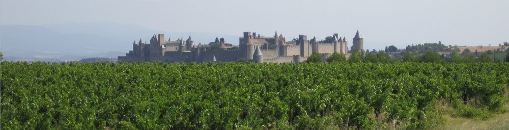 Carcassonne Walled City .  ©2015 Sean Walmsley;  The walled city of Carcassonne is an incredible medieval citadel, with a rich history beginning in the 3rd Century AD. I have visited it three times, and it continues to amaze and intrigue.