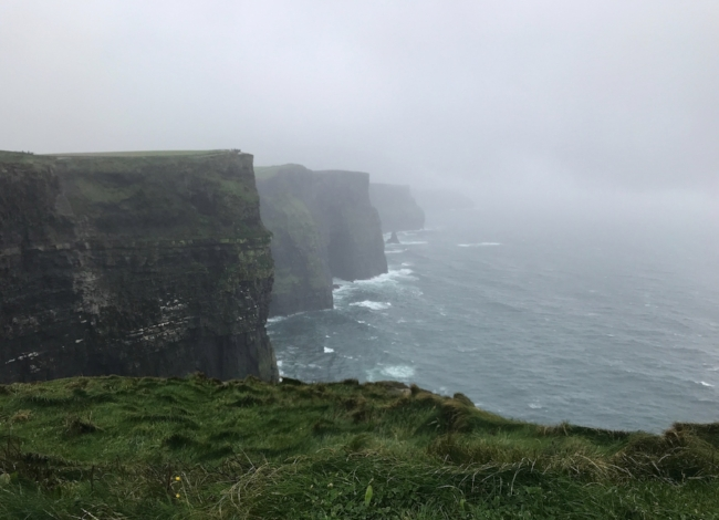 Day One at the Cliffs of Moher (not displayed in Saratoga Health & Wellness). ©2017 Sean Walmsley