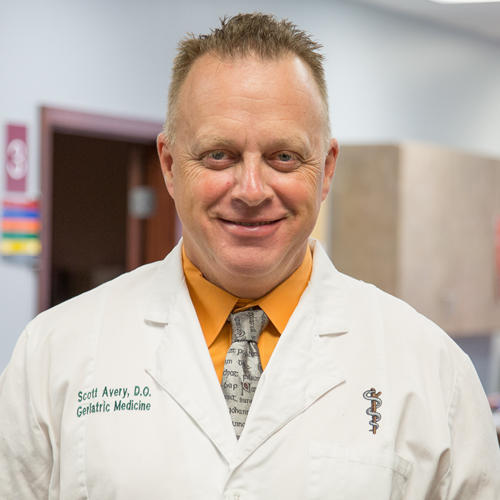 Dr. Scott Avery, DO graduated from the Kansas City University of Medicine and Biosciences College of Osteopathic Medicine in 2007. He works in Savannah, MO and specializes in Geriatric Medicine.