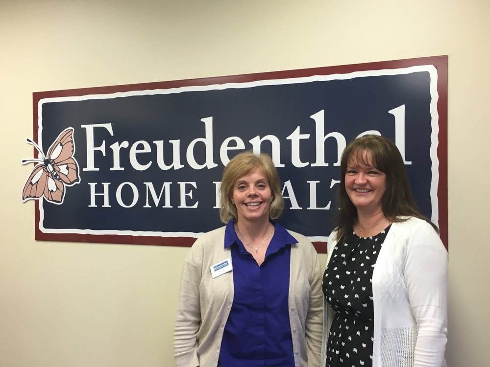 Two of our Social Work Champions:  (Left to Right) Stefanie Nold & Shelbe King