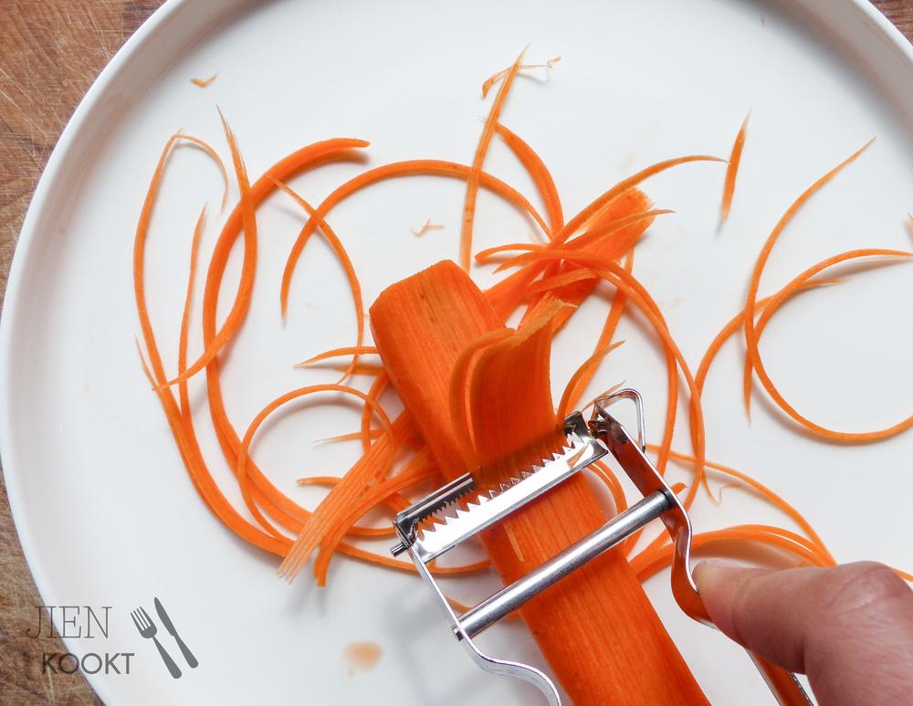 wortelsliertjes