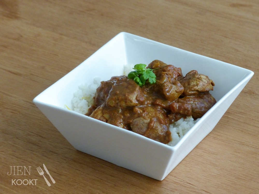 Indiase beef curry