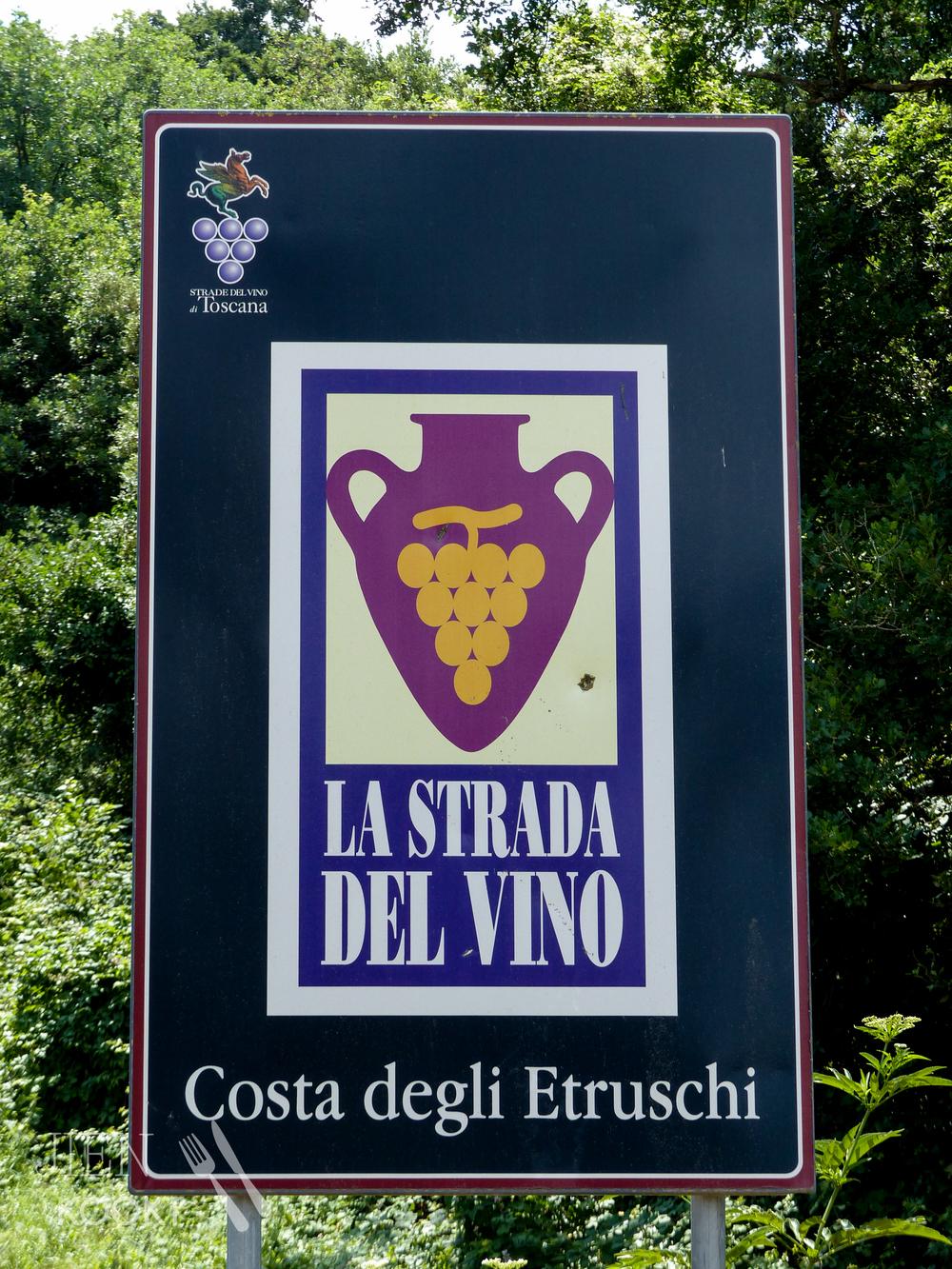 La strada del vino in Toscane