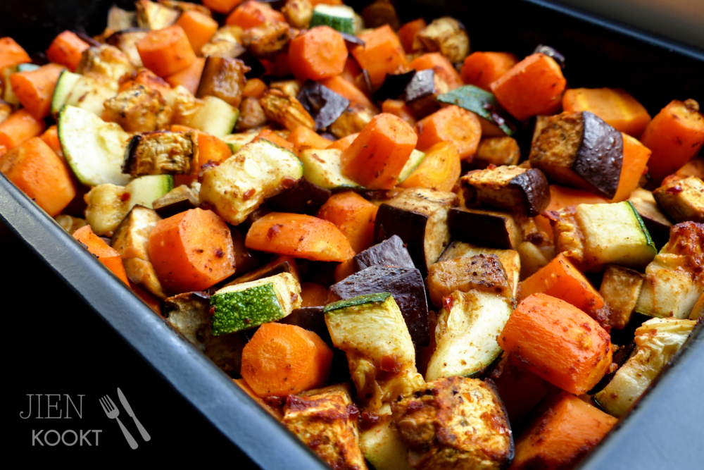 Pittige harissa-groenten met bulgur   Jienkookt.nl