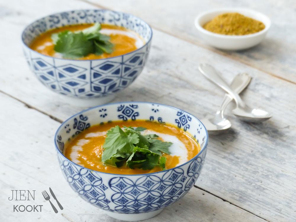 Wortel-currysoep met Vadouvan | Jienkookt.nl