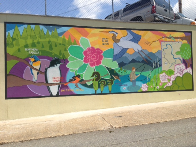 Mountain Heritage Bird Trail Mural