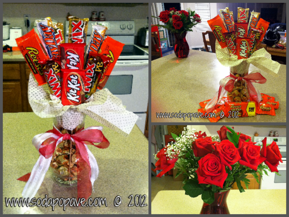 Candy Bar Bouquet Domestic Underachiever