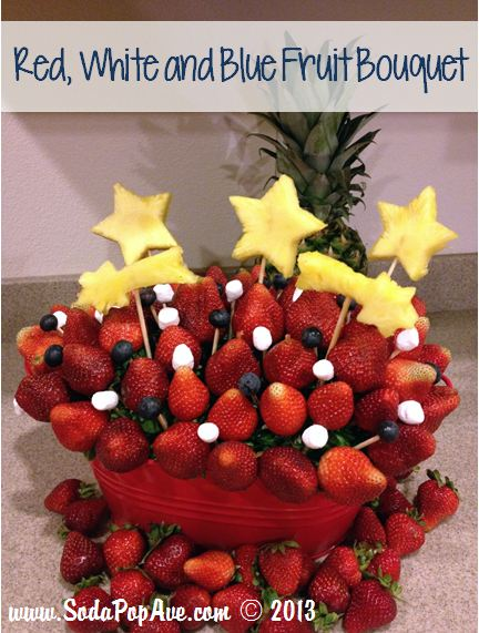 Red White and Blue Fruit Bouquet.JPG