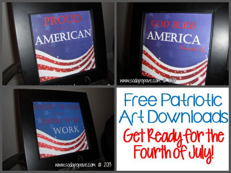 Downloadable Patriotic Art