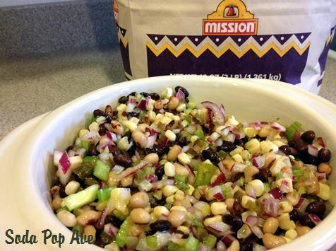 Veggie Bean Salsa Recipe (6).JPG