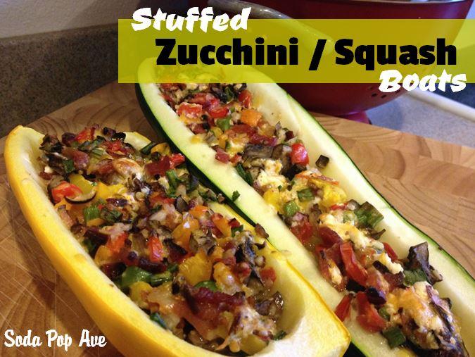 Zucchini Squash Boats Recipe.JPG