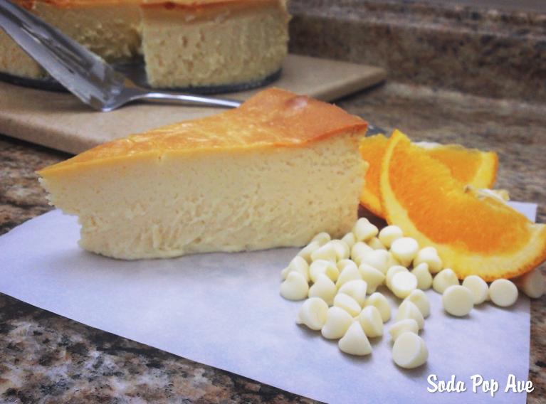 Orange Creamsicle Cheesecake — Soda Pop Avenue