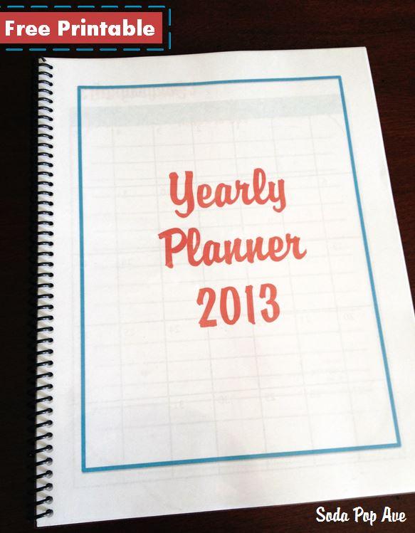 Planner Download 2013 2013 Yearly Planner Banner.jpg