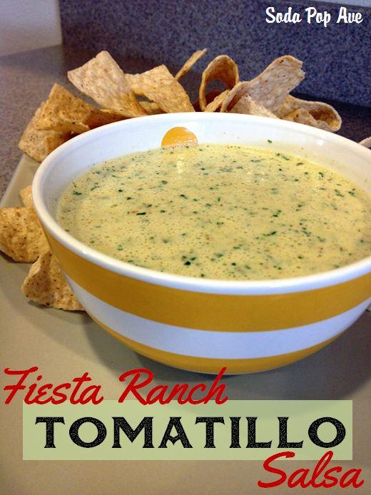 Fiesta Ranch Tomatillo Salsa Recipe Banner.JPG