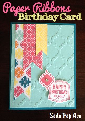 Paper Ribbons Birthday Card.JPG