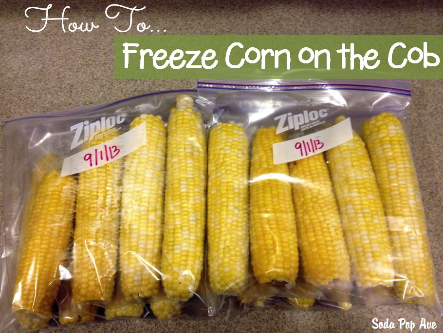 Ellie's How to Freeze Corn on the Cob Tutorial