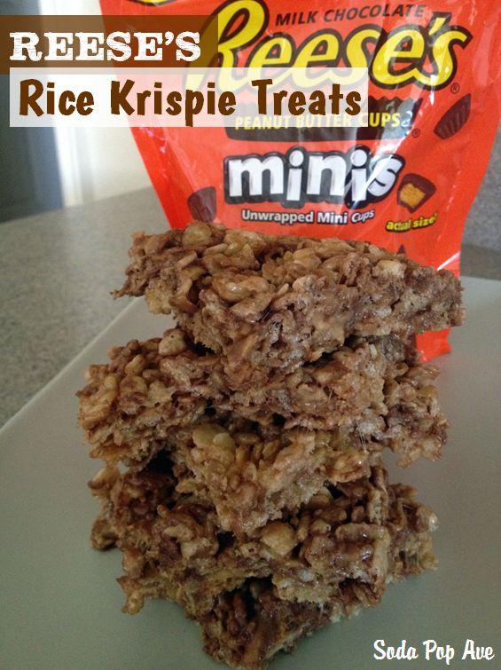 Ellie's Reese's Rice Krispie Treats