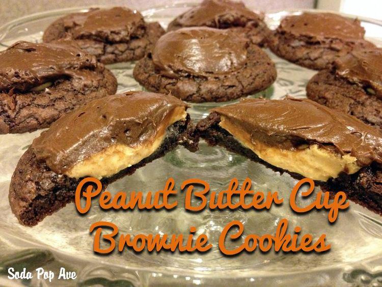 Ellie's Peanut Butter Brownie Cookies