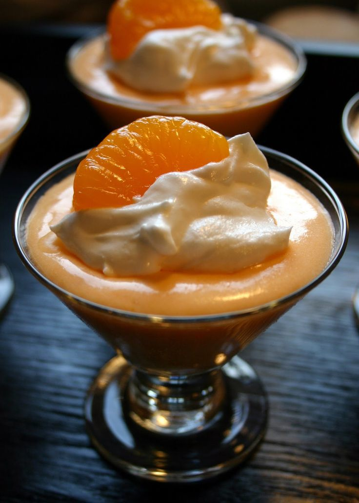 Orange Creamsicle Pudding