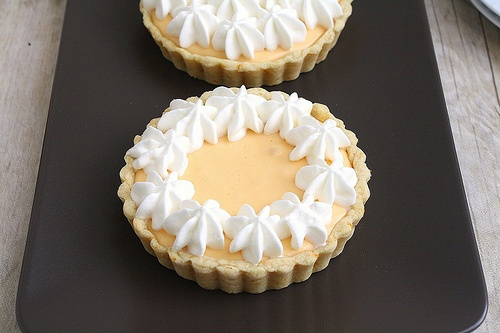 Mini Orange Creamsicle Tarts