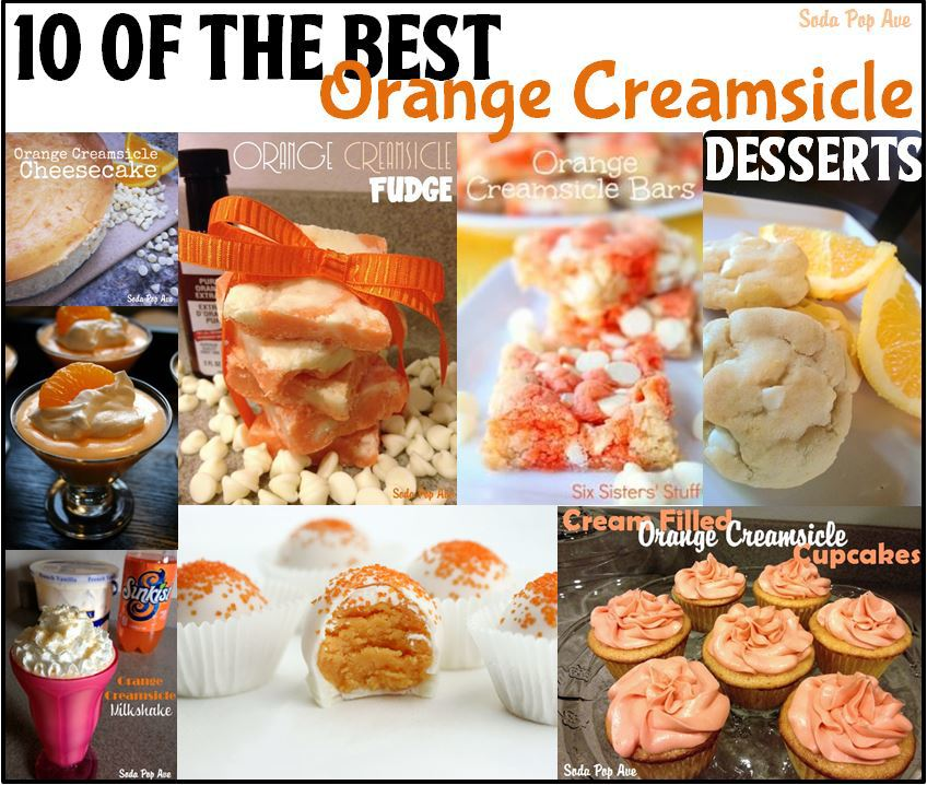 Orange Creamsicle Desserts Round Up Banner.JPG