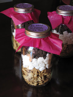 Smore's Jar Thank You Gift