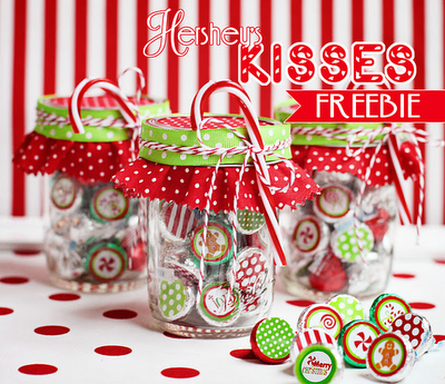 Hershey's Kisses and Free Printable