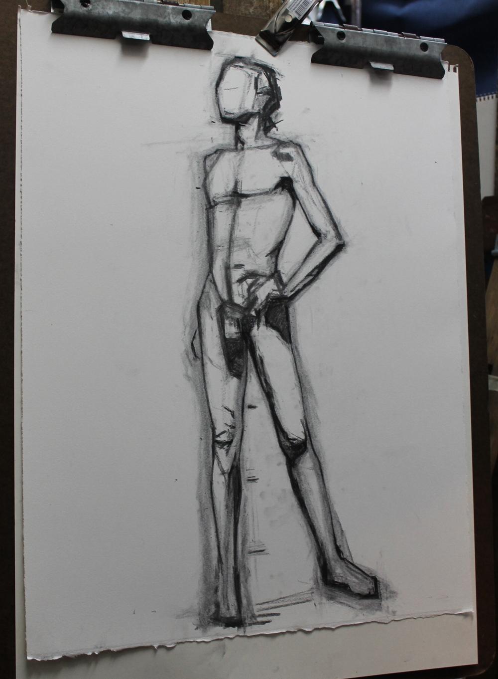 Sam Roche, Figure Drawing