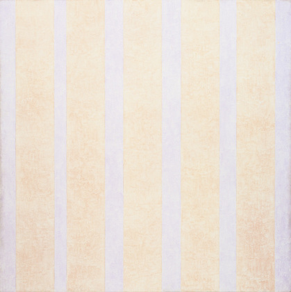 "Most of the lighter shades incorporate well into Agnes Martin's powdery grids, like the sombre stripes of ""Rebecca's Smalls"" (Daphne du Maurier, Rebecca ) and ""Rothko's Forearm"" (Joy Williams,  Breaking and Entering )."