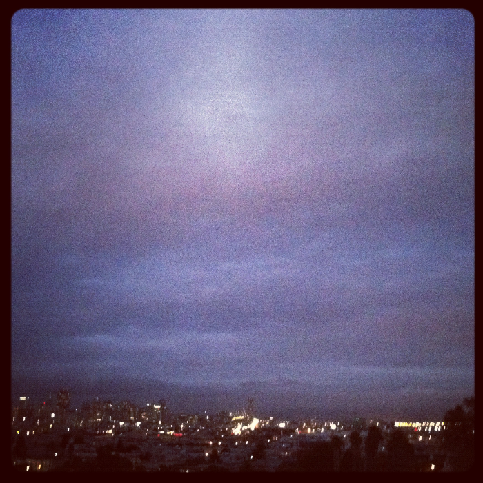 Looking east from Dolores Park