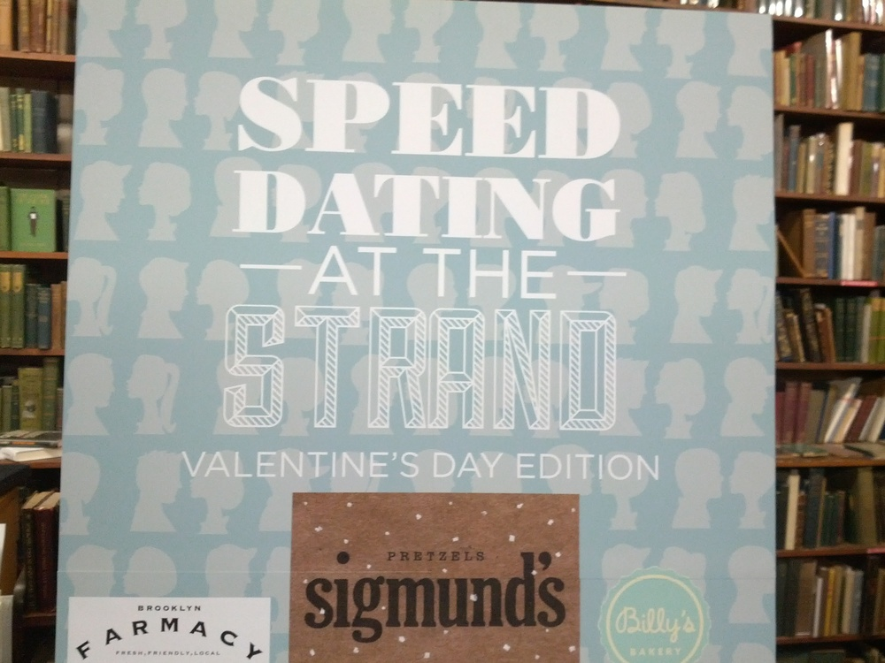 Speed dating a book