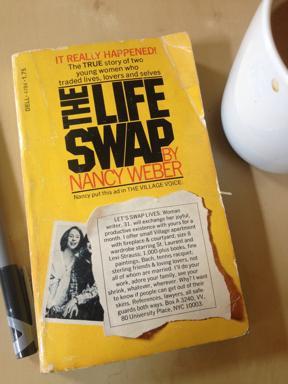 The Life Swap , in paperback. ISO SWF. BYO Knife to ... Stab Me in the Back With.