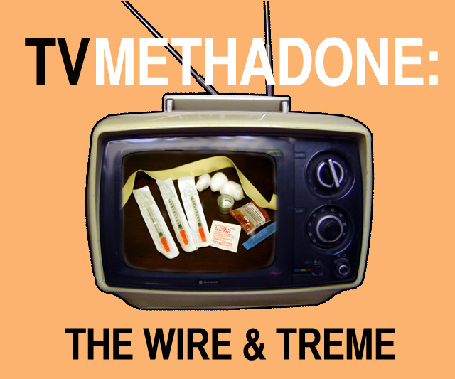 If you need to come down from  The Wire ,  Treme  will only make the sickness worse.