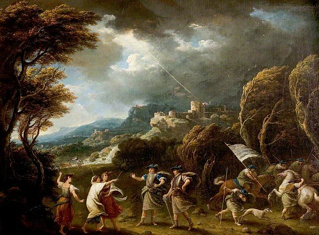 Macbeth and the Witches ,  Francesco Zuccarelli
