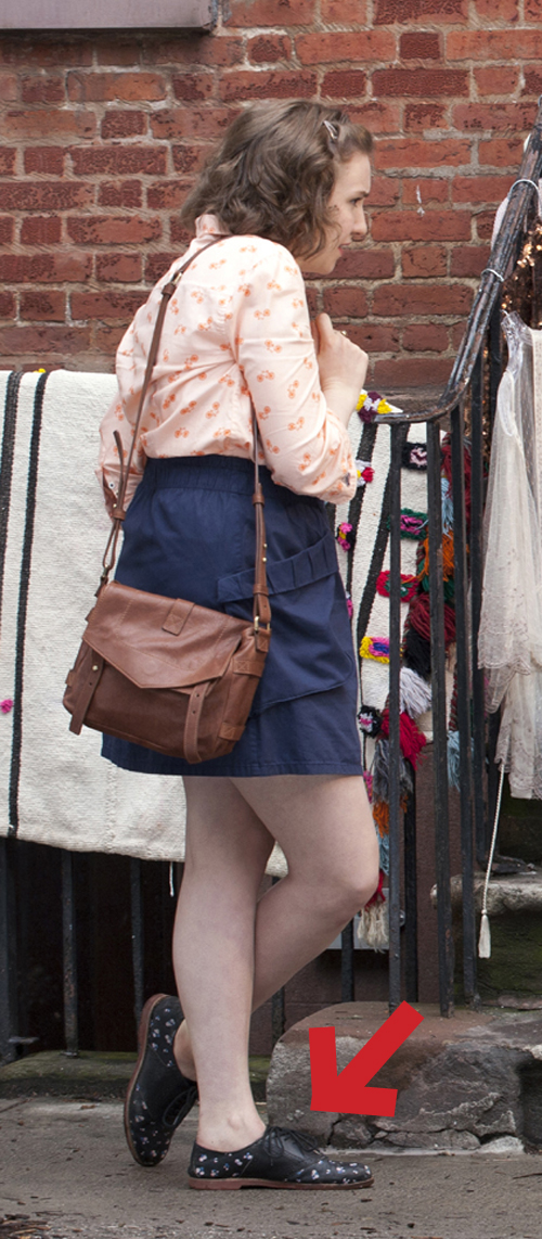 The pair Lena Dunham's wearing on Girls may be too Never 31.