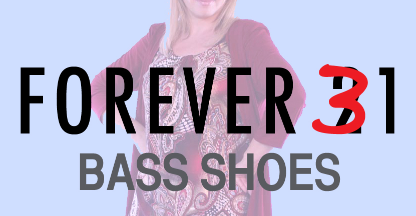 Bass has shoes that are cool and age appropriate, but beware the pairs that make you look all-ages or aged.