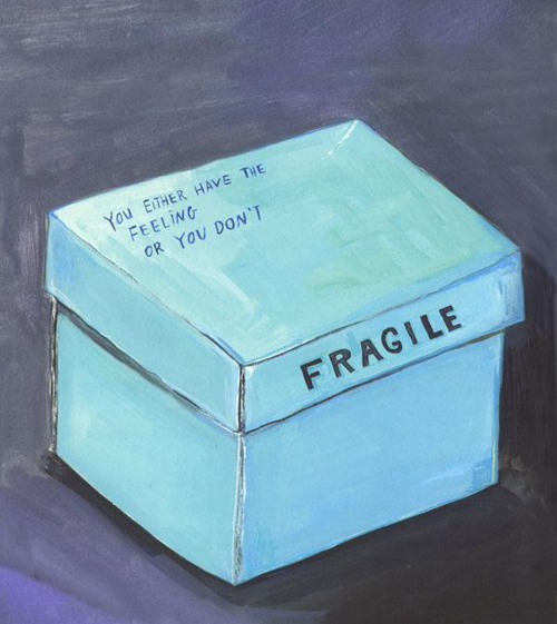 The box of sadness-- Kalman's blue period.