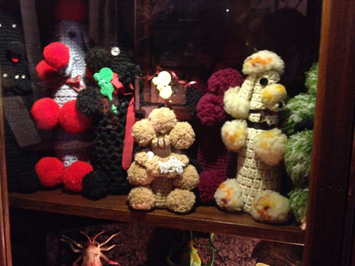 The reason they're tearing New York's Museum of Folk Art down is because it's not yet worthy of a crocheted poodle collection.