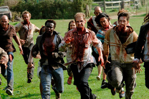 The zombies of 28 Days Later, a.k.a., The Running Dead.