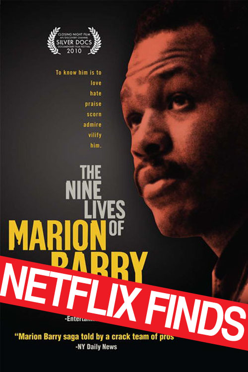 "When it comes to Marion Barry, the pull quote from the  New York Daily News  praising this film's ""crack team of pros"" really says it all."