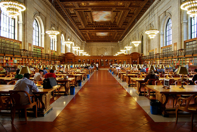 The Main Reading Room; New York City