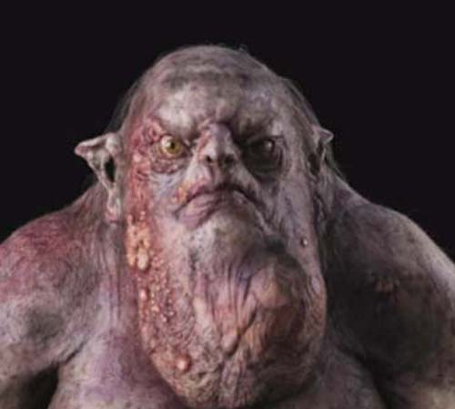 The Goblin King-- at least his chin isn't cleft.