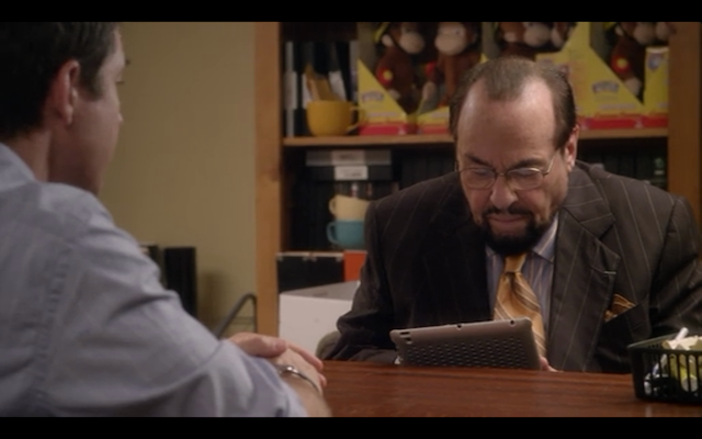 James Lipton returns as the prison warden turned screenwriter.