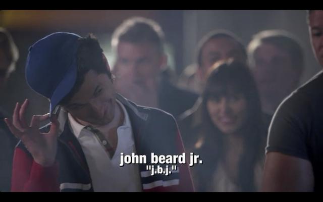 Ben Schwartz, a.k.a. Jean-Ralphio Saperstein, as John Beard, Jr. (JBJ).