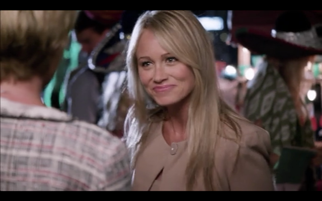 Christine Taylor as Sally Sitwell, Lindsay's high school/political nemesis.