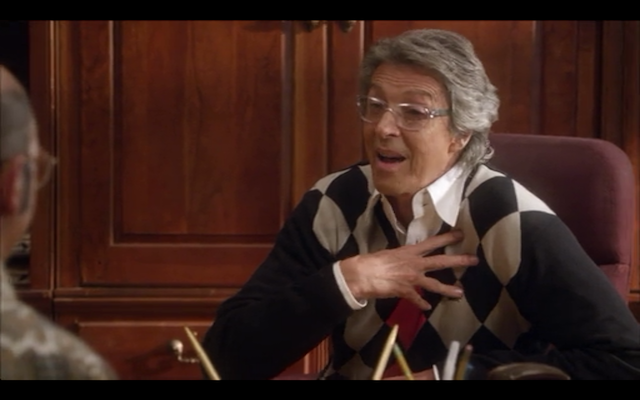 Tommy Tune as Argyle Austero, rehab clinic administrator, choreographer extraordinaire... and loan shark?