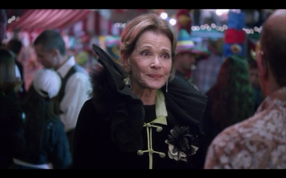 "I'm not sure Lucille 1 has an appropriate wardrobe for her newfound ""Invisible Girl"" status."