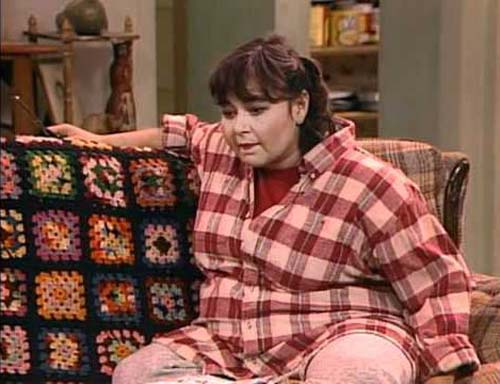 Roseanne was a style icon, the couch was not.