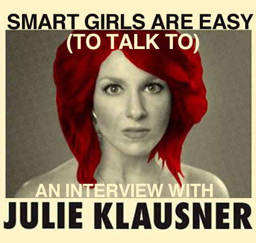 Julie Klausner (Credit: Julie Klausner, altered by author)