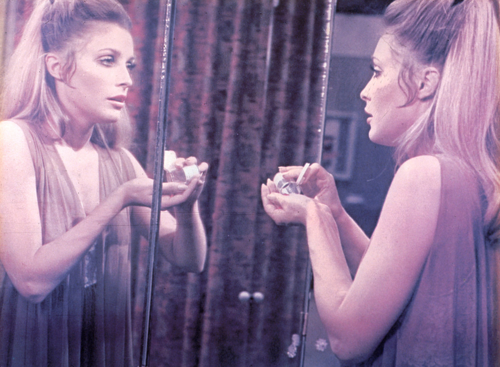 Sharon Tate as Jennifer North in the 1967 film adaptation of Valley of the Dolls